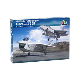 ITALERI ITA 1419 JSF X-32A AND X-35B 1/72 MODEL KIT