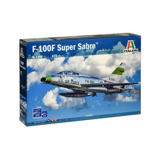 ITALERI ITA 1398 F100F SUPERSABRE 1/72 MODEL KIT