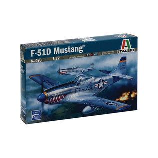 ITALERI ITA 086  1/72 P-51D Mustang MODEL KIT