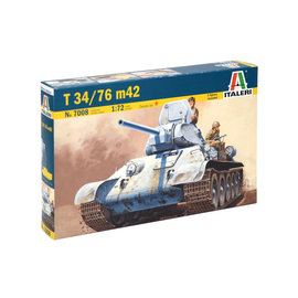 ITALERI ITA 7008 T34/76 M42 1/72 MODEL KIT