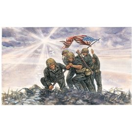 ITALERI ITA 6098 IWO JIMA FLAG RAISERS 1/72 MODEL KIT