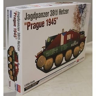 Academy/Model Rectifier Corp. ACA 13277 HETZER 38T PRAGUE 1945 1/35 MODEL KIT