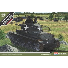 Academy/Model Rectifier Corp. ACA 13313 GERMAN COMMAND TANK 1/35 MODEL KIT