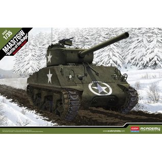Academy/Model Rectifier Corp. ACA 13500 M4A3 BATTLE OF THE BULGE 1/35 MODEL KIT
