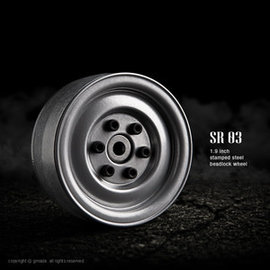 GMA GM70182 STEELIES SEMIGLOSS SILVER 1.9 WHEELS