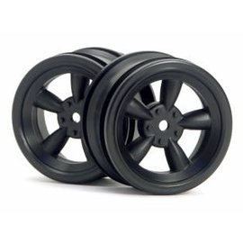 HPI RACING HPI 3816 BLACK VINTAGE WHEEL 26MM