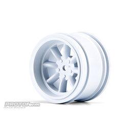 Proline Racing PRO 276504 PROTOform VTA Rear Wheel White, 31mm VTA Class