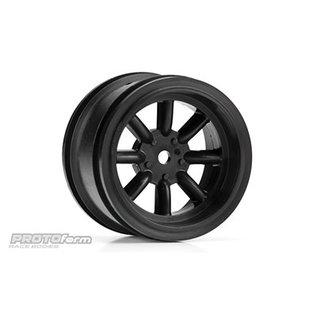 Proline Racing PRO 276503 PROTOform VTA Rear Wheel Black, 31mm VTA Class