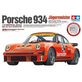 TAMIYA TAM 12055 1/12 Porsche 934 Jagermeister w/Photo-Etched Parts