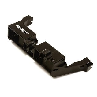INTEGY INT C27967BLK BILLET MACHINED TLOCK SERVO MOUNT TRAXXAS TRX4