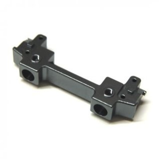 STR STA31392GM CNC Machined Aluminum Front Bumper Mount/Chassis Brace For Axial SCX10 II (Gun Metal)