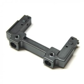 STR STA31393GM CNC Machined Aluminum Rear Bumper Mount/Chassis Brace For Axial SCX10 II (Gun Metal)