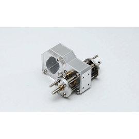 RC4WD RC4 X-0438 DUAL DIG TRANSMISSION SILVER CRAWLER