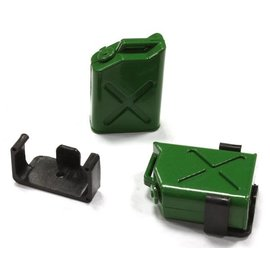 INTEGY INT C25183GREEN FUEL TANKS WITH BRACKET 1/10 CRAWLER
