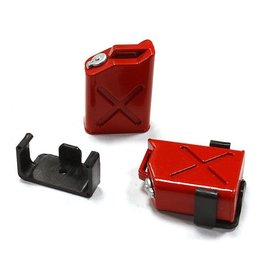 INTEGY INT C25183RED FUEL TANKS PLASTIC PAIR 1/10 CRAWLER