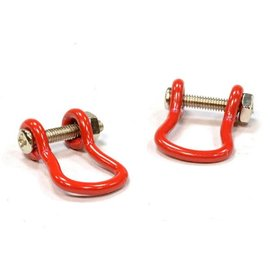 INTEGY INT C25048RED TOW SHACKLE RED 1/10 PAIR