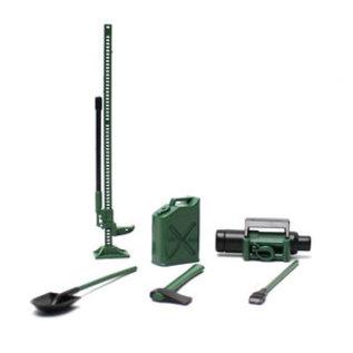 Racers Edge RCE 3400G 1/10 Scaler Accessory Set (8pcs) - Green