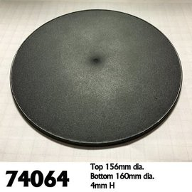 REAPER REA 74064 160MM ROUND BASES 4 PACK