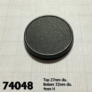 REAPER REA 74048 32MM GAMING BASES ROUND 10 PACK