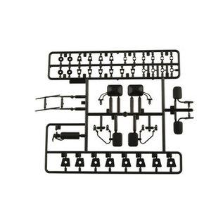 AXIAL RACING AXI 80038 EXTERIOR DETAILS BLACK PARTS BLACK