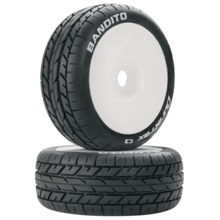 DTX C3639 BANDITO TIRES 1/8 BUGGY 17MM HEX PAIR