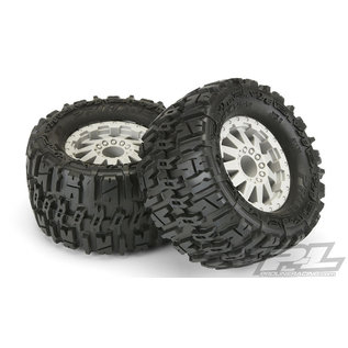 Proline Racing PRO 117026 TRENCHER 2.8 F-11 GRAY ELECTRIC STAMPEDE-RUSTLER REAR