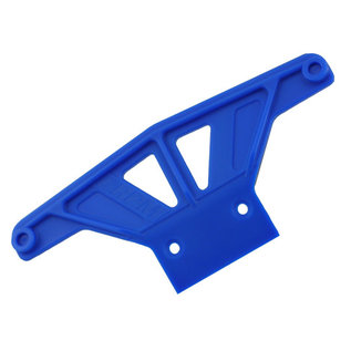 RPM RC PRODUCTS RPM 81165 FRONT BUMPER BLUE STAMPEDE/RUSTLER