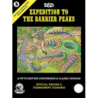 DUNGEONS & DRAGONS GMG 50003 D&D ORIGINAL ADVENTURES REINCARNATED #3 BARRIER PEAKS