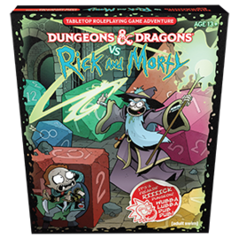 DUNGEONS & DRAGONS WTC C7248 D&D VS RICKY AND MORTY SET