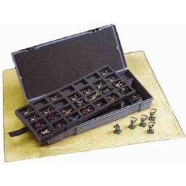 CHESSEX CHX 02851 FIGURE STORAGE BOX LARGER 25MM 56 FIGURES