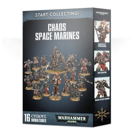 GAMES WORKSHOP WAR 99120102108 START COLLECTING CHAOS SPACE MARINES