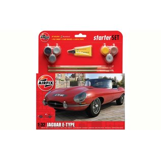 AIRFIX AIR 55200 JAGUAR E TYPE WET KIT 1/32 COMPLETE MODEL SET