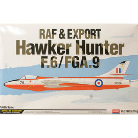 Academy/Model Rectifier Corp. ACA 12312 1/48 RAF & Export Hawker Hunter F.6/FGA.9 PLASTIC MODEL KIT