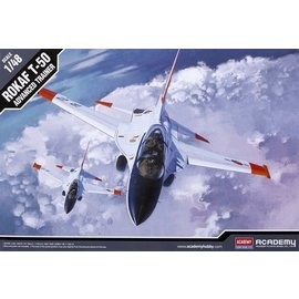 Academy/Model Rectifier Corp. ACA 12231 1/48 T-50 ROK Air Force Advanced Trainer PLASTIC MODEL KIT