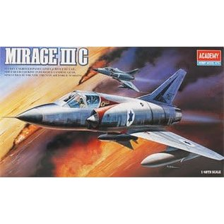 Academy/Model Rectifier Corp. ACA 12247 1/48 Mirage III-C Israel MODEL KIT