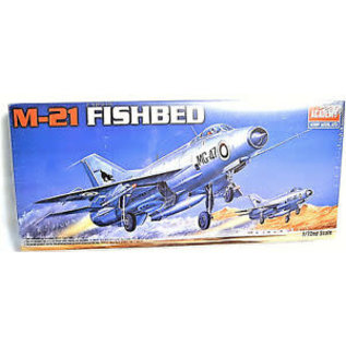 Academy/Model Rectifier Corp. ACA 12442 1/72 MiG21 Fished USSR MODEL KIT