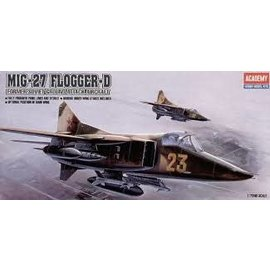 Academy/Model Rectifier Corp. ACA 12455 1/72 MIG-27 Flogger D USSR MODEL KIT