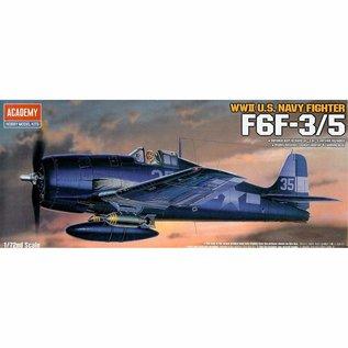 Academy/Model Rectifier Corp. ACA 12481 F6F-3/5 Hellcat USA (was kit #2121)