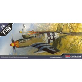 Academy/Model Rectifier Corp. ACA 12464 P51B MUSTANG 1/72 MODEL KIT
