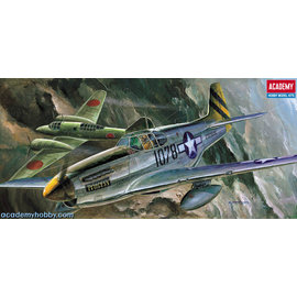 Academy/Model Rectifier Corp. ACA 12441 1/72 P51C Mustang MODEL KIT
