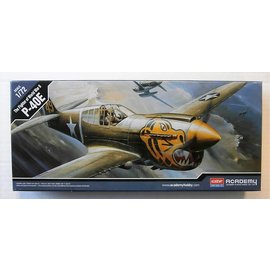 Academy/Model Rectifier Corp. ACA 12468 P-40E THE FIGHTER OF WORLD WAR II