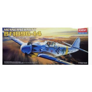 Academy/Model Rectifier Corp. ACA 12454 MESSERSCHMITT BF109G-14 1/72 MODEL KIT