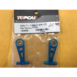 TOP 13305LB ALUMINUM FRONT UPPER ARMS TT02