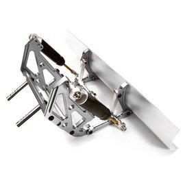 INTEGY INT C26807SIL BILLET MACHINED PLOW KIT SCX10