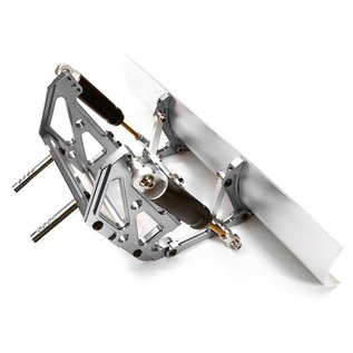 INTEGY INT C26807SIL BILLET MACHINED PLOW KIT SCX10