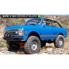 AXIAL RACING AXI 90058 SCX10 II 1969 CHEVROLET BLAZER READY TO RUN