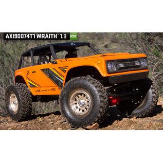 AXIAL RACING AXI 90074T1 AXIAL RACING WRAITH 1.9 READY TO RUN ORANGE