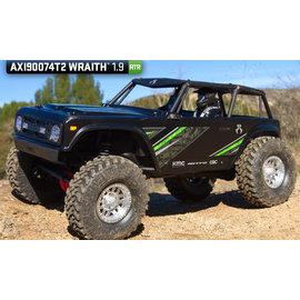 AXIAL RACING AXI 90074T2 WRAITH 1.9 READY TO RUN BLACK
