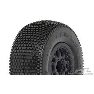 """Proline Racing PRO 118316  Blockade SC 2.2""""/3.0"""" M3 (Soft) Tires Mounted for Slash and Blitz Rear, Slash 4x4 Front or Rear & Blitz Front (with modification)"""