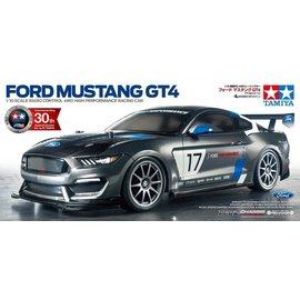 TAMIYA TAM 58664 Ford Mustang GT4 KIT TT02